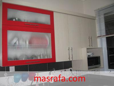 Desain Dapur Merah Hitam  dapur merah masrafa com